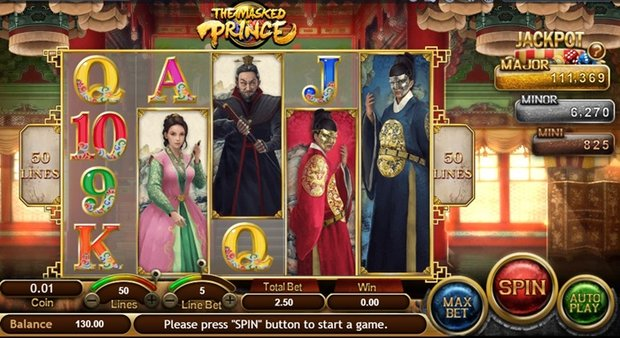 Spiele The Masked Prince - Video Slots Online