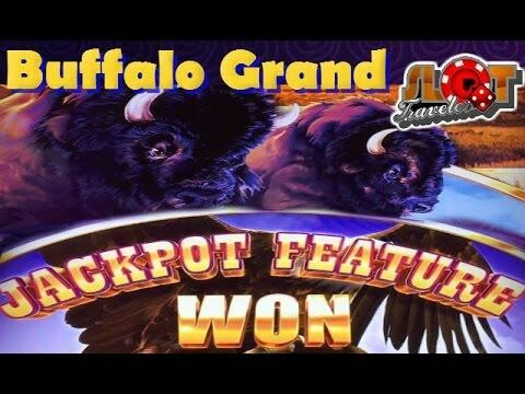 Huge Cash Prize Paid by Buffalo Grand Video Slot