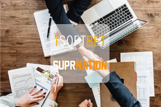 iSoftBet Inks a New Content Deal with SuprNation