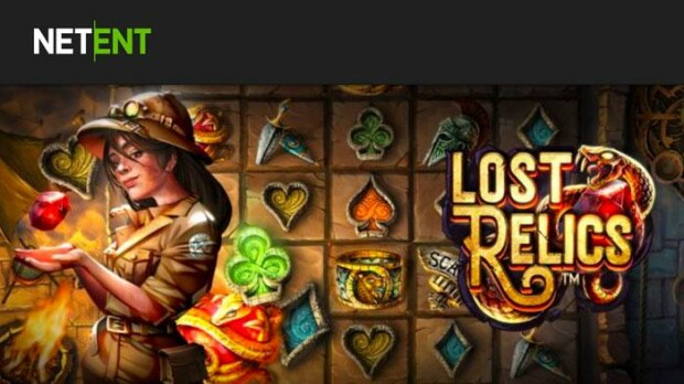 New slot game Lost Relics launched by NetEnt