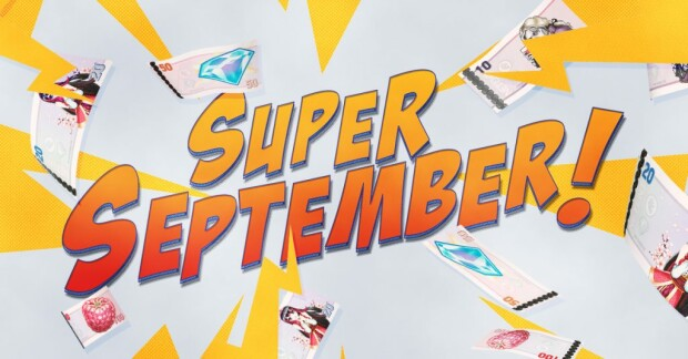 Super September Promotion by NetEnt
