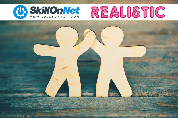 Titles by Realistic Games to be Integrated by SkillOnNet