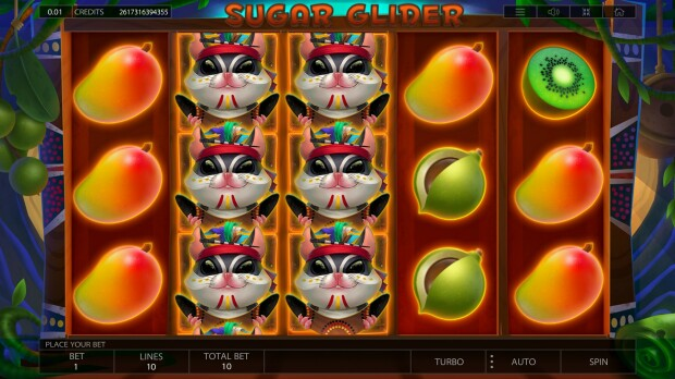 """Sugar Glider"" Video Slot Announced by Encorphina Incorporated"