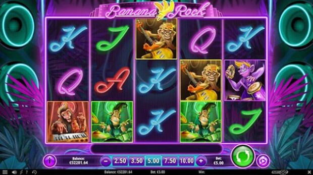 """Banana Rock"" Slot Game Announced by Play'n GO"