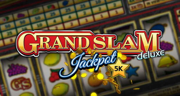 "New ""Grand Slam Deluxe"" Video Slot Released by Stakelogic BV"